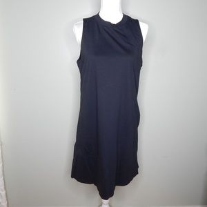 everlane women black dress sz L